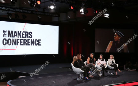 Editorial photo of The 2017 MAKERS Conference, Day 2, Los Angeles, USA - 07 Feb 2017