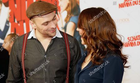 Stock Photo of Carolin Kebekus and Max Mutzke