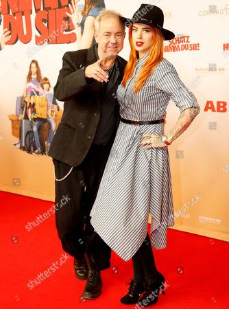 Helmut Zerlett and Miriam Probst