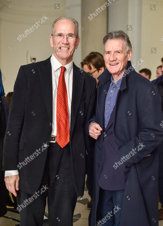 Stock Picture of Sandy Nairne and Michael Palin