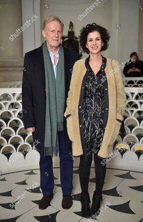 Richard Hudson and Mollie Dent-Brocklehurst