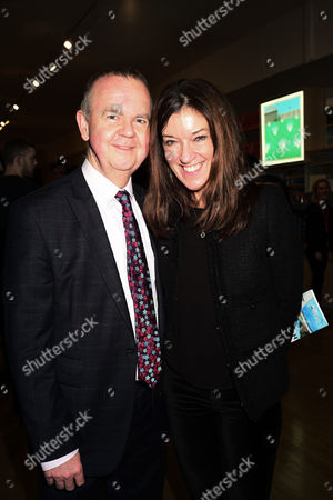 Ian Hislop and Victoria Hislop