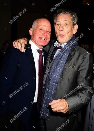 Lord Michael Cashman and Sir Ian McKellen
