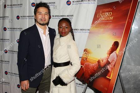 Zainab Jah with Husband