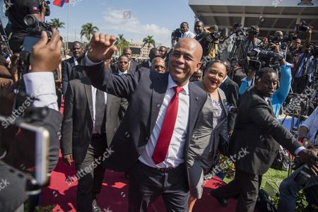 Editorial picture of Inauguration ceremony of the 58th president of Haiti, Port-Au-Prince - 07 Feb 2017