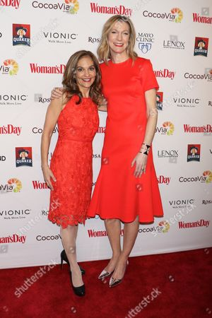 Joy Bauer and Susan Spencer, Editor-in-Chief, Woman's Day