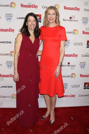 Kassie Means, Publisher & Cro, Woman's Day and Susan Spencer, Editor-in-Chief, Woman's Day