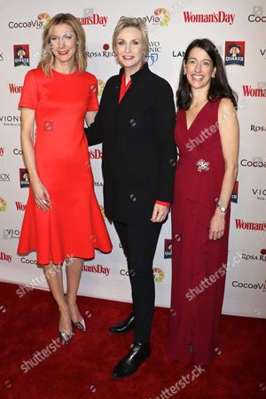 Susan Spencer, Editor-in-Chief, Woman's Day, Jane Lynch, Kassie Means, Publisher & Cro, Woman's Day
