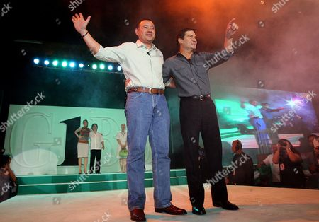 Editorial picture of Philippines Politics Teodoro - manzano Tandem Announcement - Nov 2009