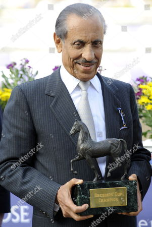 Prince Khalid Abdullah Who is the Owner of Midday the Winner of the Emirates Airline Breeders' Cup Juvenile Fillies and Mare Turf Horse Race at Santa Anita Park in Los Angeles California Usa 06 November 2009 the Breeder's Cup is the Season-ending Championship of Thoroughbred Racing