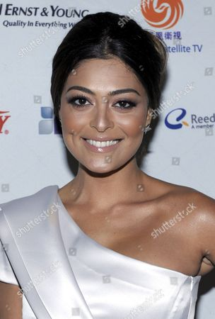 Actress Juliana Paes of Brazil Arrives For the 37th International Emmy Awards in New York New York Usa on 23 November 2009 United States New York