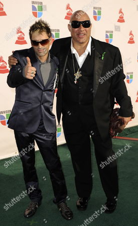 Tony Baez and Narada Michael Walden Arrive For the Latin Grammy Awards in Las Vegas Nevada Usa 05 November 2009 the Latin Grammy Awards Honor Artistic and Technical Excellence in the Recording Arts and Sciences and Has Become the Height of Achievement in Latin Music Recording