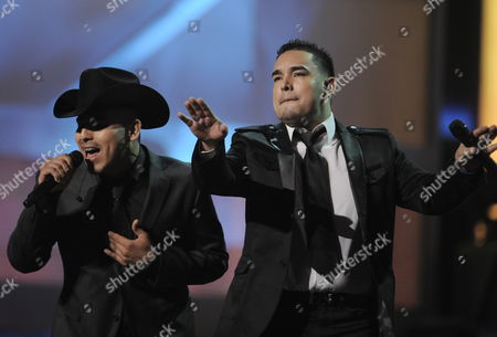 Musicians Espinoza Paz (l) and Montez De Durango Perform at the Latin Grammy Awards in Las Vegas Nevada Usa 05 November 2009 the Latin Grammy Awards Honor Artistic and Technical Excellence in the Recording Arts and Sciences and Has Become the Height of Achievement in Latin Music Recording