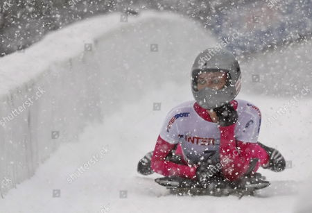 Editorial photo of Usa Womens Skeleton World Cup - Nov 2009