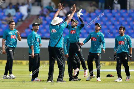 Editorial image of Bangladesh Cricket, Hyderabad, India - 08 Feb 2017