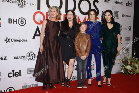 Stock Picture of Patricia Bernal, Tiare Scanda, Luke, Karla Souza, Ximena Rubio