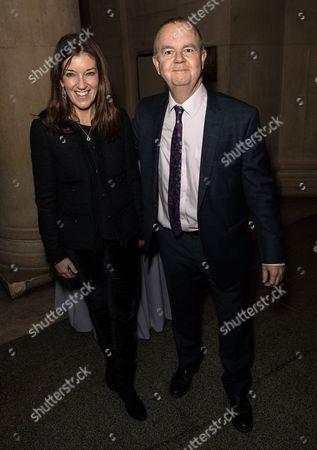 Victoria Hislop and Ian Hisloop