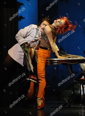 Stock Picture of 'Edward Scissorhands' at the Sadler's Wells Theatre - Matthew Malthouse and Nina Goldman
