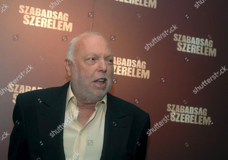 Hungarian-born Us Producer Andrew G Vajna Arrives For the Premiere of His Movie 'Liberty and Love' in the Corvin Movie Palace in Budapest Friday 20 October 2006 the Story of the Film is Set During the 1956 Revolution and War of Independence Against the Communist Rule and the Soviet Union Hungary Budapest