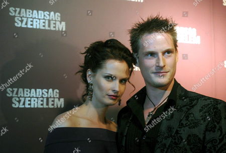 Hungarian Actors Ivan Fenyoe (r) and Kata Dobo Arrive For the Premiere of Their Movie 'Liberty and Love' Directed by Hungarian-born Us Producer Andrew G Vajna in the Corvin Movie Palace in Budapest Friday 20 October 2006 the Story of the Film is Set During the 1956 Revolution and War of Independence Against the Communist Rule and the Soviet Union Hungary Budapest