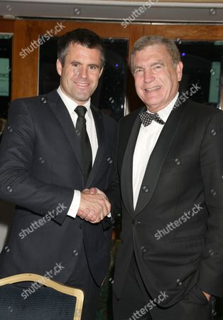 Kenny Logan and Trevor Brooking