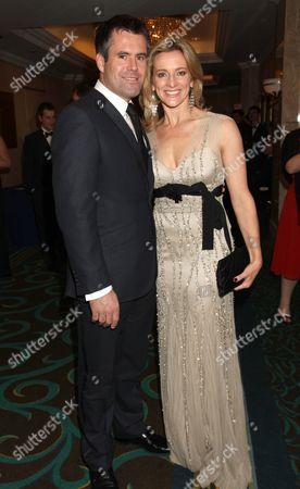 Kenny Logan and Gabby Logan