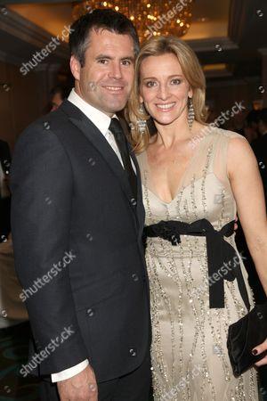 Gabby Logan with husband Kenny Logan