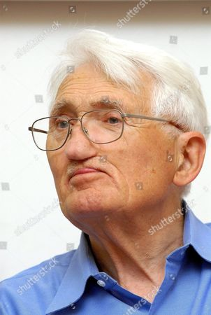 German Sociologist and Philosopher Juergen Habermas Attends an International Conference Under the Title 'Philosophy of Habermas' at the University of Pecs in Pecs 197 Kms South of Budapest Hungary 18 May 2009 Hungary Pecs