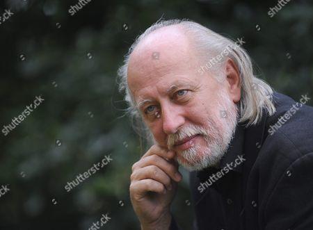 A Photo Taken on 11 July 2012 Shows Hungarian Writer Laszlo Krasznahorkai at His Home in Pilisszentivan 20 Kms North of Budapest Hungary Laszlo Krasznahorkai Won the Man Booker International Prize 2015 As Announced on 20 May 2015 Hungary Pilisszentivan