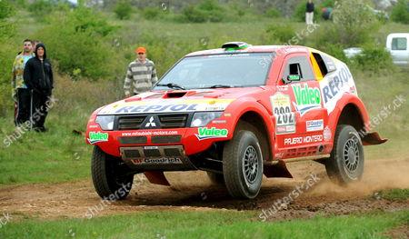 Editorial picture of Hungary Motor Rallying Dakar Series - Apr 2008