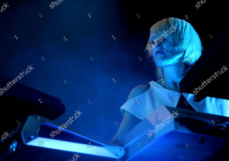British Musician and Dj of British Band Faithless Sister Bliss Performs During a Concert at the Sziget (island) Festival on the Shipyard Island Northern Budapest Hungary 12 August 2010 the Festival Runs Until 16 August 2010 Hungary Budapest
