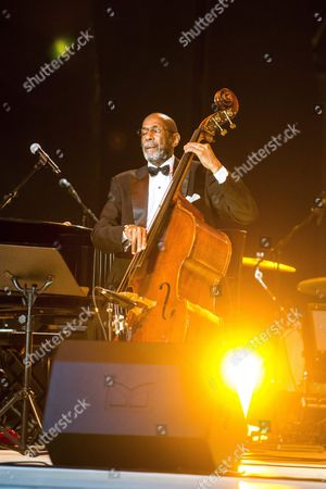 Us Jazz Double Bassist Ron Carter Performs During a Gala Concert Marking the Live Clean! Drug Free World Day on the Open-air Stage of Margaret Island in Budapest Hungary 26 June 2015 Hungary Budapest