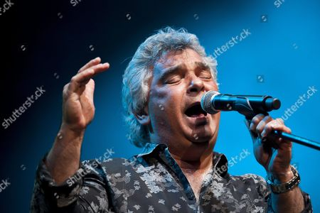 Singer and Guitarist Nicolas Reyes of French Band the Gipsy Kings Performs During Their Concert at the Papp Laszlo Budapest Sports Arena in Budapest Hungary 07 May 2011 Hungary Budapest