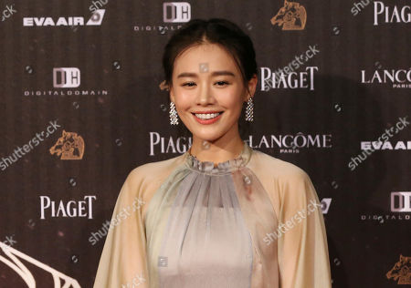 "Ma Sichun arrives at the 53rd Golden Horse Awards in Taipei, Taiwan. Romance drama ""Soul Mate"" has charmed the Hong Kong Film Awards. The coming-of-age tale of two girls falling for the same boy received 12 nominations, with Ma and Zhou Dongyu both getting nods in the best actress category. The awards ceremony is on April 9"