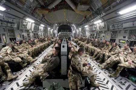 A Picture Made Available 01 December 2012 Shows Hungarian Soldiers on Board a Boeing C-17 Military Transport Aircraft Before They Travel From the Airbase of Papa Hungary to Kabul Afghanistan 30 November 2012 Meanwhile Afghanistan's Foreign Minister Zalmai Rassoul is Reported to Have Kicked Off Talks with His Pakistani Counterpart Hina Rabbani Khar on 30 November 2012 to Further Efforts Aimed at Reaching a Negotiated End to the Taliban Insurgency in Afghanistan Hungary Papa