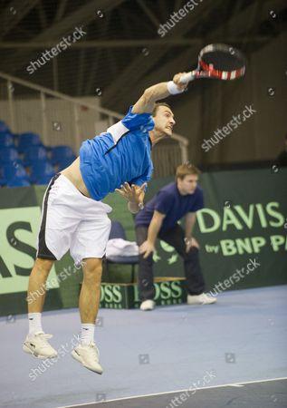 Editorial image of Hungary Tennis Davis Cup - Feb 2012