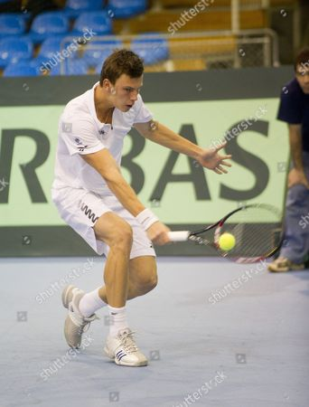 Editorial photo of Hungary Tennis Davis Cup - Feb 2012
