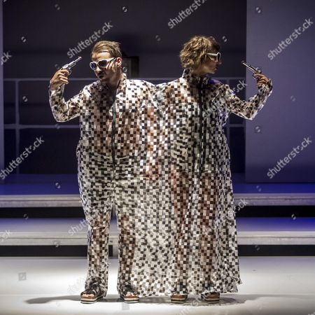 Members of the Hungarian Exerimental Performance Group Soharoza Perform During the Final Rehearsal of the Musical 'Tabu Kollekcio' (taboo Collection) in the House of Contemporary Arts in Budapest Hungary 07 September 2016 (issued 08 September) on the Day of Its Debut the Troupe Has Performed at Flashmobs Individual Theatrical Plays and in Collaboration with Other Ensembles on a Project Basis Since Its Foundation in 2008 Hungary Budapest