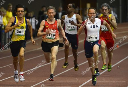 Editorial picture of Hungary World Masters Athletics - Mar 2014