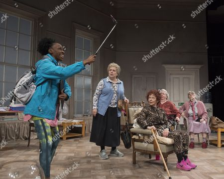 Keziah Joseph as Hope, Joanna Munro as June, Sheila Reid as Gloria, Maggie McCarthy as May,  Rachel Davies as Maureen,