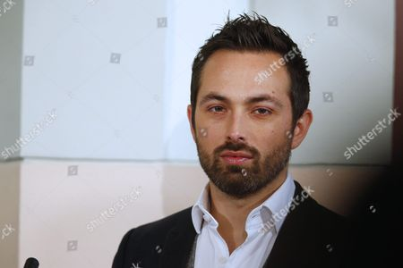 Australian-canadian Filmmaker Derek Muller Looks on During a Press Conference Before the Nobel Peace Prize Concert in Honor of Nobel Peace Prize Laureates From the Tunisian National Dialogue Quartet in Oslo Norway 11 December 2015 Norway Oslo