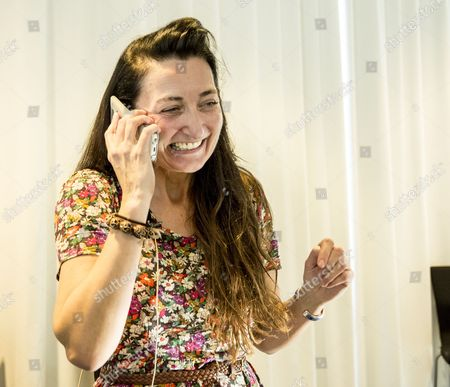 May-britt Moser Speak on Her Cell Phone at the Celebration Party in the Norwegian University of Science and Technology (ntnu) in Trondheim 06 October 2014 Shortly After the Announcement That She and Her Husband Won the 2014 Nobel Prize in Medicine Together with British-merican Researcher John O Keefe American John O'keefe and Norwegians May-britt Moser and Edvard Moser Won the 2014 Nobel Prize in Medicine For the Discovery of Nerve Cells That Constitute a Positioning System in the Brain the Trio Were Lauded For Discovering 'An 'Inner Gps' in the Brain That Makes It Possible to Orient Ourselves in Space ' the Karolinska Institute Said 'The Discoveries of John O ?keefe May-britt Moser and Edvard Moser Have Solved a Problem That Has Occupied Philosophers and Scientists For Centuries - How Does the Brain Create a Map of the Space Surrounding Us and How Can We Navigate Our Way Through a Complex Environment?' Said the Stockholm-based Medical University Which Awards the Prize Norway Trondheim