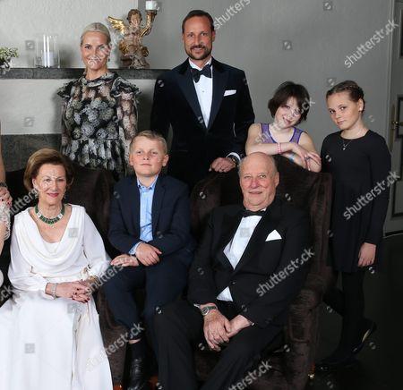 Editorial photo of Norway Royalty - Jan 2016