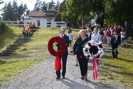 Editorial image of Norway Utoya Memorial Day - Jul 2014