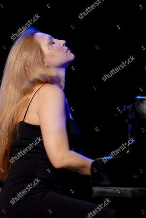 Brazilian Eliane Elias Performs in Gdynia (north of Poland) During the Ladies Jazz Festival Late 15 July 2007 Poland Gdynia