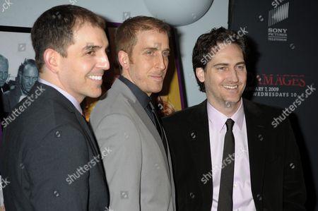 Executive producers of Damages, Glenn Kessler, Todd A. Kessler and Daniel Zelmanmour
