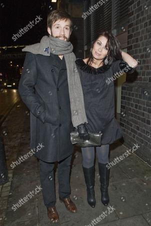 Alison King and boyfriend Adam Huckett