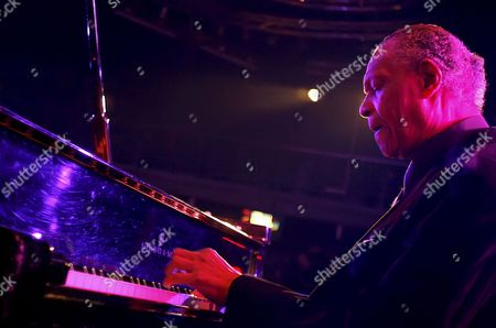 Us Jazz Pianist and Composer Mccoy Tyner Performs with American Saxophonist and Clarinetist Gary Bartz (unseen) During a Concert at Lotos Jazz Festival in Bielsko-biala Poland 04 February 2010 Poland Bielsko-biala