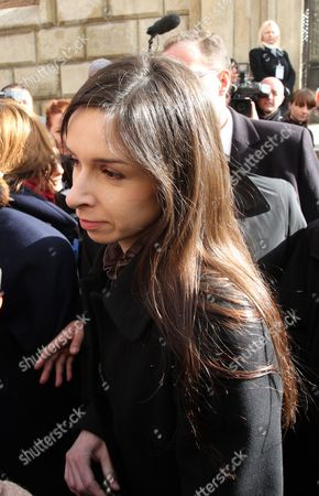 The Late Polish President Lech Kaczynski's Daughter Marta Kaczynska-dubieniecka on Her Way to the Crypt of Cracow's Wawel Cathedral As the Country Marks the First Anniversary of Kaczynski Plane Crash in Cracow Poland 10 April 2011 Polish President Lech Kaczynski His Wife Maria Kaczynska and 94 Other Poles Died 10 April 2010 when Polish Presidential Plane Crashed While Trying to Land in Smolensk Russia Poland Cracow