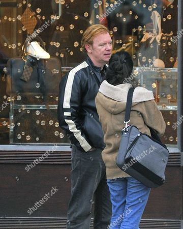 Editorial picture of David Caruso and friends Out and About in Paris, France - 13 Dec 2008